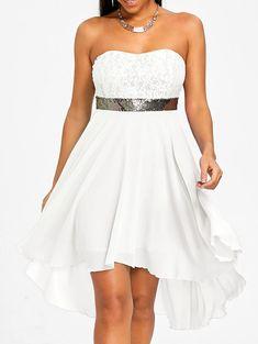 Sequined Waist Chiffon Bandeau Dress compre com o meu link https://www.dresslily.com/sequined-waist-chiffon-bandeau-dress-product3095071.html?seid=MU6h13A3Mh4rGjQ9tfdtAUhnlO www.fashionchique.pt