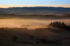 Rising fog - null