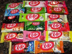 30 Must-Buy Souvenirs at Narita Airport | tsunagu Japan.  As of 3-2016, NRT stores only had about 8 varieties of Kit Kats.