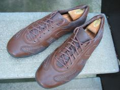 Vintage Born Used Brown Leather by VintageClassicWares on Etsy, $40.00