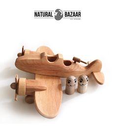 t2_100% Handmade Wooden Aeroplane with Viewfinder from Natural Bazaar by DaWanda.com