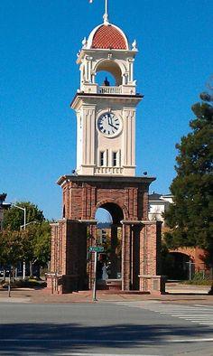 Santa Cruz, CA. The town clock
