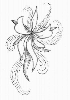 Awesome Most Popular Embroidery Patterns Ideas. Most Popular Embroidery Patterns Ideas. Pearl Embroidery, Tambour Embroidery, Bead Embroidery Patterns, Hand Embroidery Designs, Ribbon Embroidery, Beaded Embroidery, Embroidery Stitches, Tambour Beading, Flower Patterns