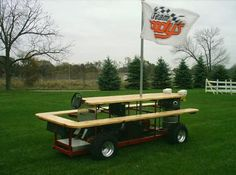 Gas Powered Picnic Table SuperSummit Auto Related Pinterest - Motorized picnic table for sale