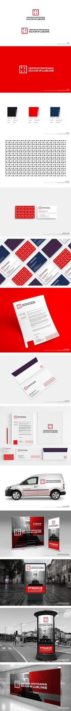 CULTURAL CENTRE IN LUBLIN BRANDING on Behance