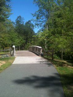 White Oak Trail leads you to Bond Park.  Bike, Walk or Run and enjoy!