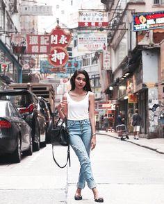 May U-Thong-On in Mody Road Sunday Outfit  #HongKongStreetStyle #SoHoStreetstyle #Hongkong