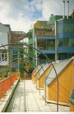 Aldo van Eyck   Viviendas Hubertus House   Amsterdam, Paises Bajos   1973-1978