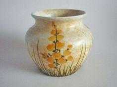 Early Edward Radford 'Broom' Pattern Art Deco Vase c1930