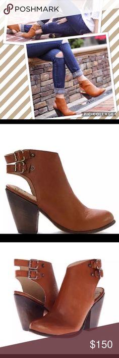 Selling this NIB FreeBird Steve Madden Smoke Brown Booties 9 on Poshmark! My username is: tracyden. #shopmycloset #poshmark #fashion #shopping #style #forsale #Steve Madden #Shoes