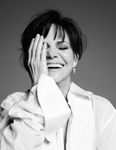 I love this photo of Sally Field. She always seems so genuine. - Ronni