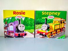 Thomas the tank engine book,  Thomas book, children's book, English, Steam train, collectible, Stepney, Rosie. Thomas The Tank, The Rev, Thomas And Friends, Steam Engine, Magpie, Uk Shop, Paperback Books, Cottage Chic