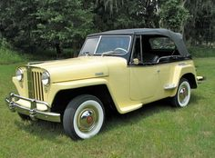 TeraFlex Jeep Build: The 1948 Jeep Jeepster was restored in-house as a special project.  This little beauty remains under delighted ownership of the CEO, founder and owner of TeraFlex, Mark Falkner.  Click to view the restoration process!