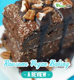 Holy chocolate! Vegan Cuts review Rawsome Vegan Baking and we're giving a copy away FREE.