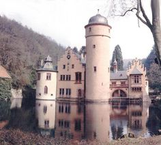 The Mespelbrunn castles in northern Bavaria. This is one of the most romantic looking castles I have seen pictures of!