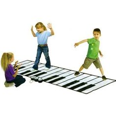 Kids Authority Educational Products - iPlay Super Gigantic Keyboard Playmat with iPod comparment and Amplifier -Built in Player - 4 Modes To Musical Instruments,Adjustable Volume Piano Play Mat, Thing 1, Musical Toys, Best Dance, Indoor Play, Your Music, Cool Toys, Musical Instruments, Keyboard