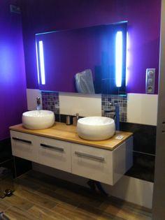 douche photos r alisations salle de bain pinterest salle de bain douche and salle. Black Bedroom Furniture Sets. Home Design Ideas