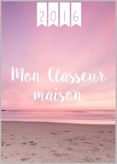 Classeur Maison 2016 version Rose
