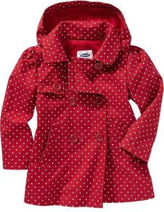 Hooded Twill Trench Coats for Baby