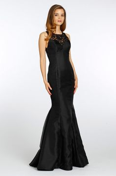 Noir by Lazaro, Fall 2013  absolutely love this!! black is one of my favorite colors for dresses