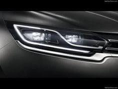 To promote the new Espace Small Dots produced in collaboration with Renault Custom Headlights, Car Headlights, Bmw Design, Design Cars, Auto Design, Car Ui, Car Gadgets, Futuristic Cars, Car Drawings
