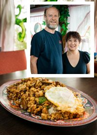 Amarillo Magazine Online   East Meets West - Thai Star owners Brian and Dow Bierman