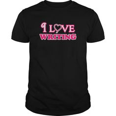 I love writing infant bodysuit i love writing body suit - tshirt - Tshirt