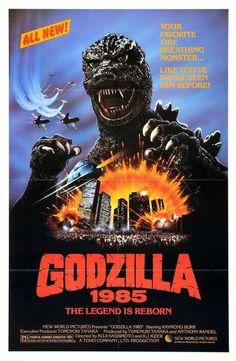 Monster Party, Horror Movie Posters, Horror Movies, Film Posters, Cthulhu, Godzilla 1984, Godzilla Toys, Godzilla Costume, Original Godzilla