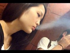 Sweet Japanese girl smoking 71