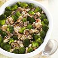 Roasted Broccoli and Chicken Bake - Delicious, hearty, AND healthy