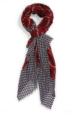 Jonathan Adler 'Fishscale' Wool Scarf available at #Nordstrom