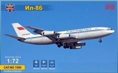 """Modelsvit MDS 7205 Il-86 """"Aeroflot"""" 1/72"""