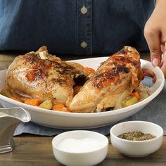 Pressure Cooker Turkey Breast - Small Thanksgiving Dinner