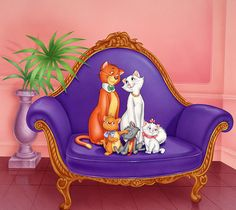 "Photo from album ""Коты аристократы"" on Yandex. Disney Cats, Disney Cartoons, Disney Pixar, Walt Disney, Scooby Doo Toys, Alley Cat, Aesthetic Collage, Lilo And Stitch, Looney Tunes"