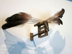 Rebecca Horn, 1993, Wings with Chinese Feathers | Flickr – Compartilhamento de fotos!