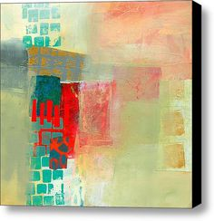 Pattern Study #2 Stretched Canvas Print / Canvas Art By Jane Davies
