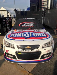 AJ Allmendinger's #47 Kingsford call ready for qualifying at the Sprint All-Star race at Charlotte Motorspeedway on May 16, 2015.