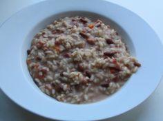 Risotto ai fagioli Il risotto da quando ho il bimby per me è diventato molto semplice da fare,;http://www.blogfamily.it/13321_risotto-ai-fagioli/
