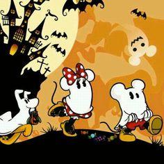 Disney ミッキーミニー ハロウィン★壁紙の画像 プリ画像