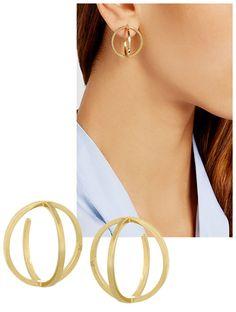Boucles d'oreilles créoles, la tendance bijoux de l'été | Vogue