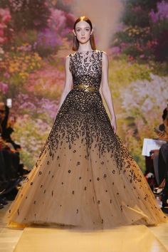 Zuhair Murad Haute Couture Spring Summer 2014 Paris - NOWFASHION