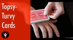 Topsy-Turvy Cards - Magic card trick Learn Magic Tricks, Magic Card Tricks, Entertaining, Learning, Cards, Life, Studying, Teaching, Map