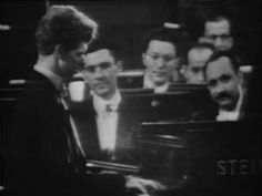 """▶ Van Cliburn plays Rachmaninoff (vaimusic.com) [Excerpt from Van Cliburn """"Prelude in E-flat, Op. 23, No. 6"""" Rachmaninoff  From: VAI DVD 4454 Van Cliburn in Moscow, Vol. 3.  The third volume features live performances of Rachmaninoff's Second and Third Piano Concertos, with the Moscow Philharmonic Orchestra under the direction of Kirill Kondrashin. The Third Concerto is the legendary performance of 1958 which occurred right after Cliburn won the gold medal.]"""