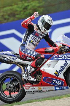 WSBK Imola - Carlos Checa, Ducati.