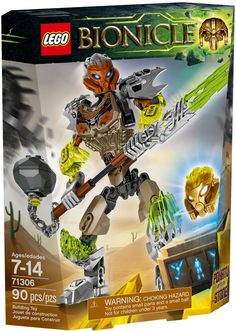 The toughest of the Toa Pohatu Uniter of Stone must inspire the other heroes on the journey to discover and unite with the elemental creatures-only then will they be powerful enough to defeat evil! Lego Bionicle, Best Lego Sets, Lego Pictures, Lego Mindstorms, Building Blocks Toys, Cool Lego Creations, Buy Lego, Lego Minecraft, Lego Models