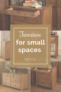 Here at Revival Beds, we have an extensive collection of bedroom furniture which is handmade in Nottinghamshire, so we can change the width, length and height to your requirements. So smaller bedroom space? Not a problem!