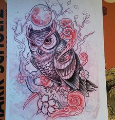Owl sketch!