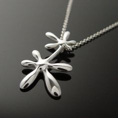 Leaflower Long Necklace