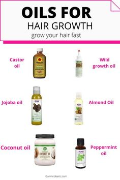 The Best oils for Natural Hair