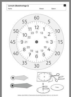 ec33e507a Die 19 besten Bilder von Clock learning in 2017 | Mathe, Uhrzeit ...